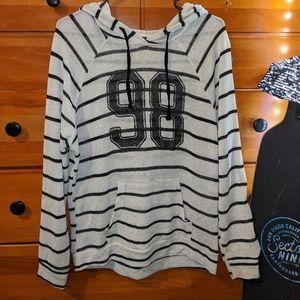 🔥Stranded Striped Mesh 98 Hoodie